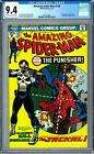 Amazing Spider-Man #129 CGC 9.4 (OW-W) 1st Appearance of the Punisher