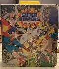 Vintage 1984 Kenner DC Super Powers Collection Carrying Case WITH FIGURES!!